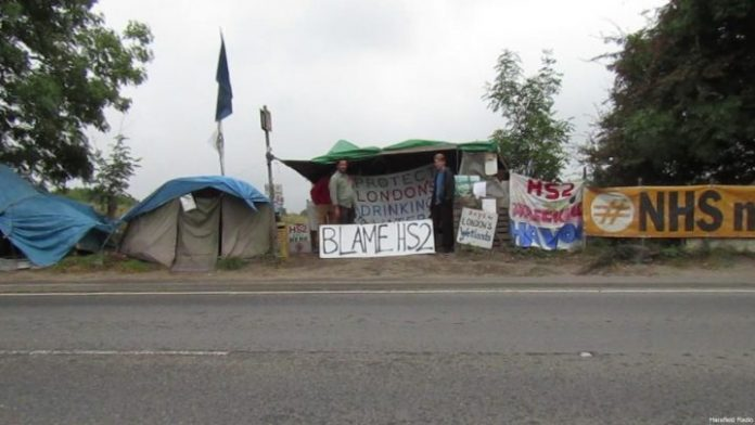 hs2 protestors